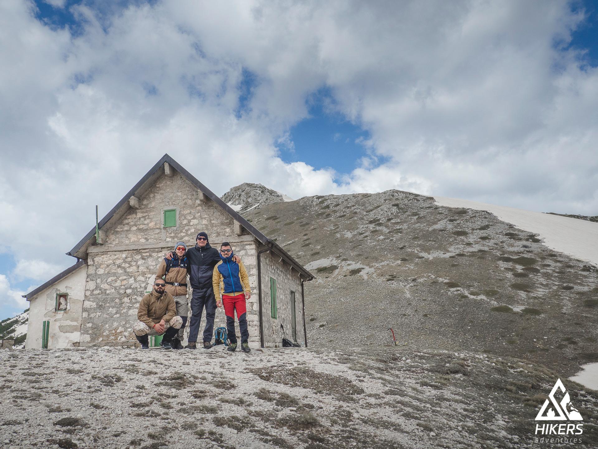 Risalita dalla Val di Rose al rifugio Forca Resuni nel Parco Nazionale d'Abruzzo