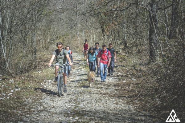 trekking e mtb sui sentieri delle mainarde