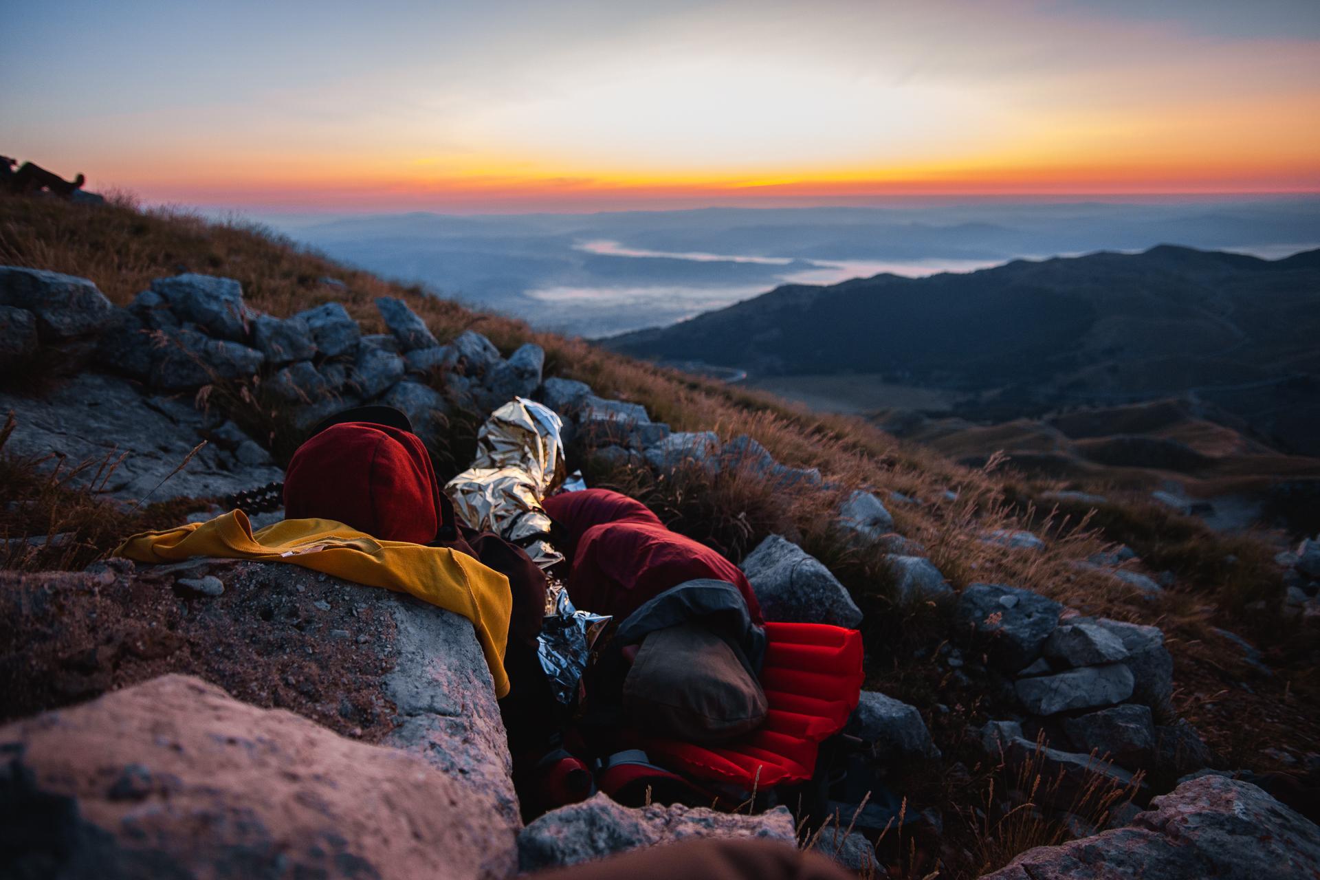 Notturna sul Monte Miletto. Il re del Parco del Matese e i colori dell'alba