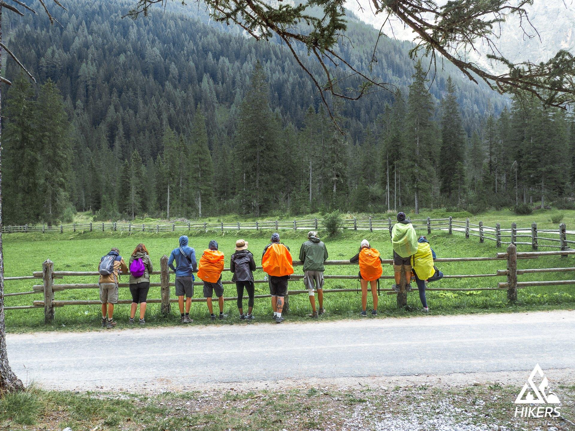 La pioggia e il trekking. Guida pratica per i nuovi Hikers