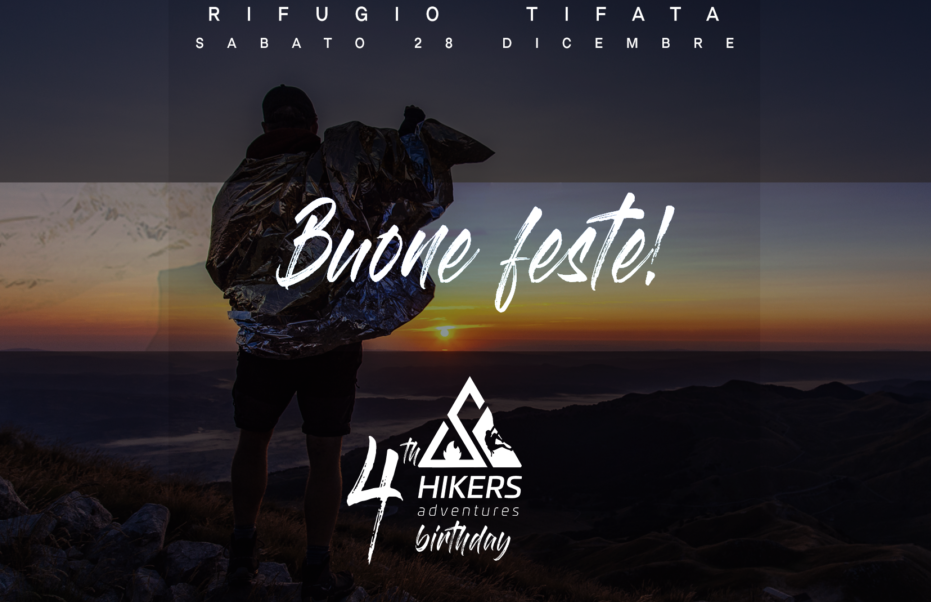 Buon compleanno Hikers Adventures!