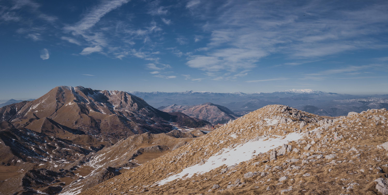 Monti del Matese. Cima la Gallinola in un inverno fuori stagione